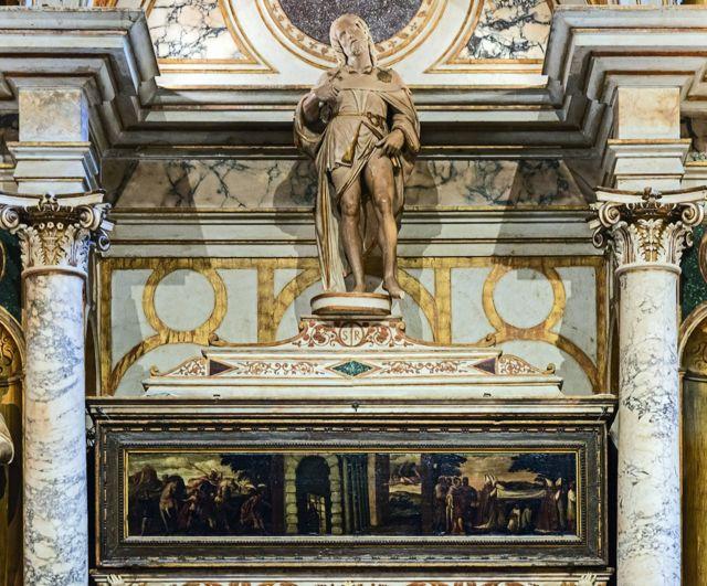 Tumba atribuída a São Roque, em Veneza