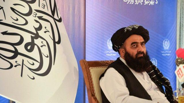 وزير خارجية طالبان