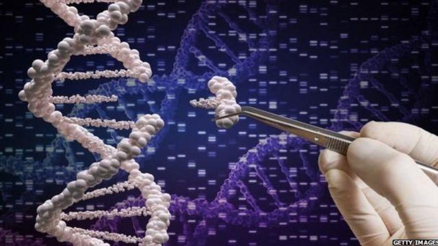 डीएनएचे संकल्पित छायाचित्र