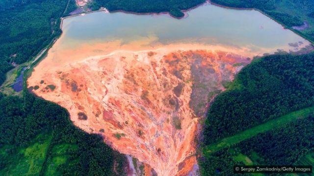 Rusya bakır madeni