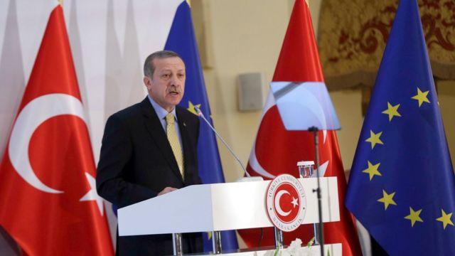 Премьер-министр Турции Реджеп Тайип Эрдоган в 2013 году