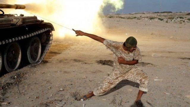 قوات الحكومة تمكنت من طرد المسلحين من سرت