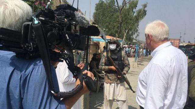 BBC采访塔利班边防卫兵