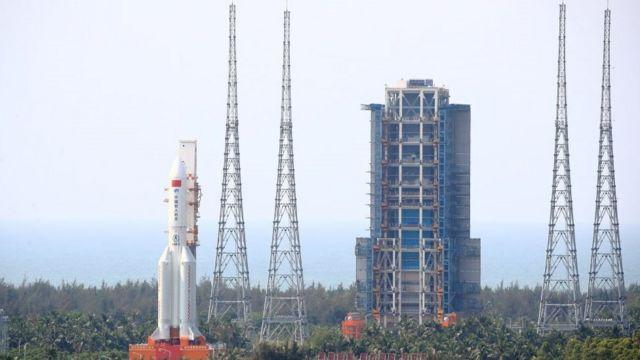 Ракета вивела на орбіту основний модуль китайської космічної станції Тяньхе