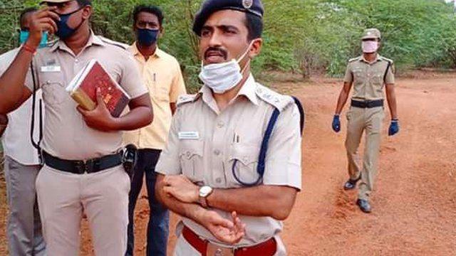 புதுக்கோட்டை மாவட்ட காவல் கண்காணிப்பாளர் அருண் சக்திகுமார்