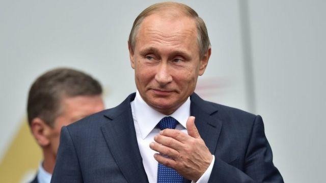 Russian President Vladimir Putin. Photo: 11 October 2015