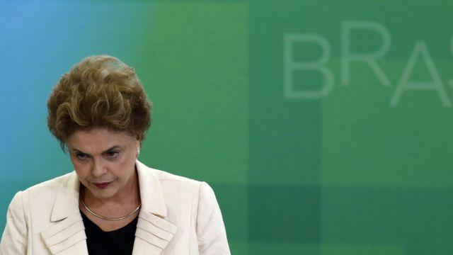 La presidenta de Brasil Dilma Rousseff fue despalazada del cargo el pasado mayo.