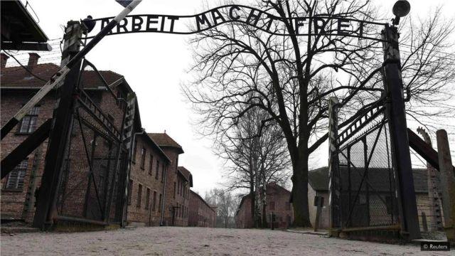纳粹在集中营屠杀了数百万人。