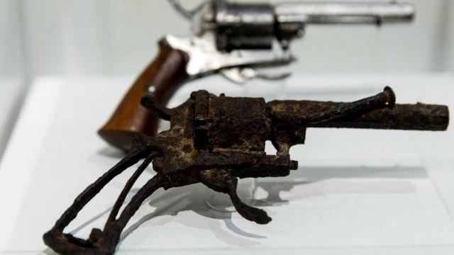 El revólver con el que Van Gogh se disparó