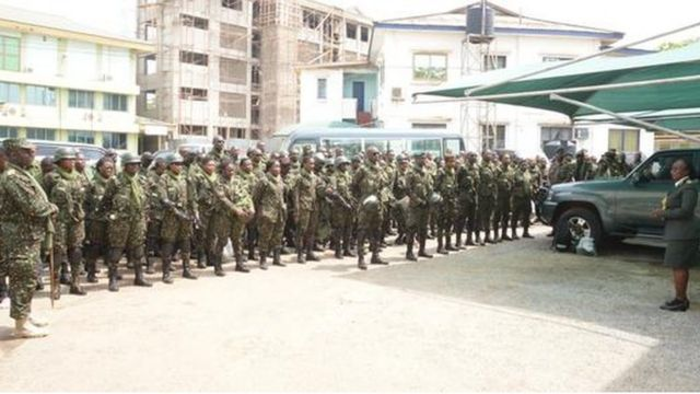 Ghana Immigration Service say dem go ''finish' landlords who dey rent houses give illegal migrants