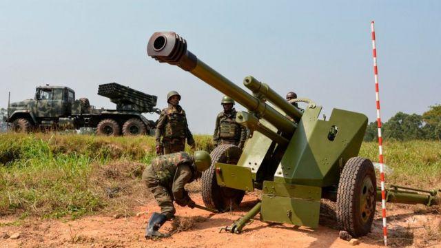 Militaires FARDC en opération