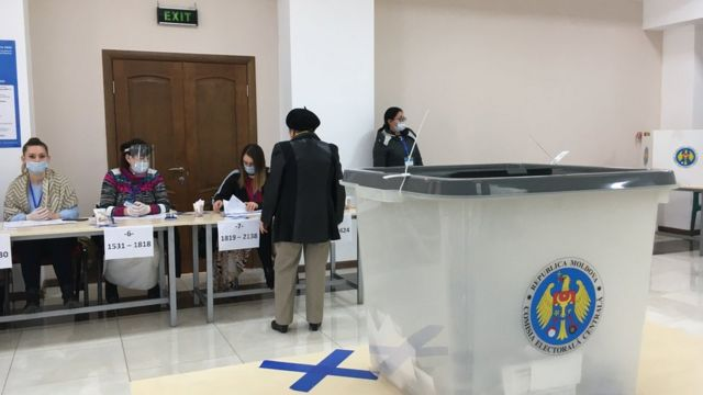 На избирательном участве в Молдове
