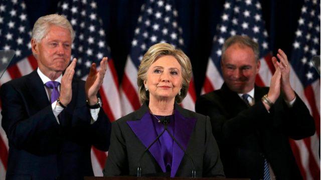 المرشحة الديمقراطية السابقة للرئاسة الأمريكية هيلاري كلينتون