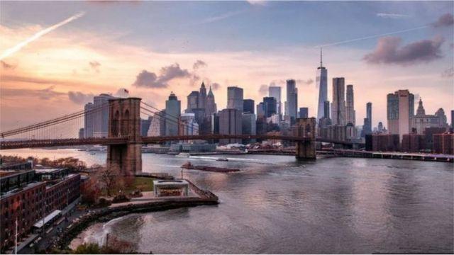 曼哈顿的摩天高楼象征成功和财富(GETTY IMAGES)