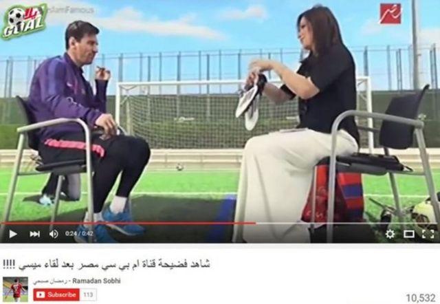 Benshi bibaza ko umumenyeshamakuru Mona al-Sharqawi yari kwanka ivyo birato