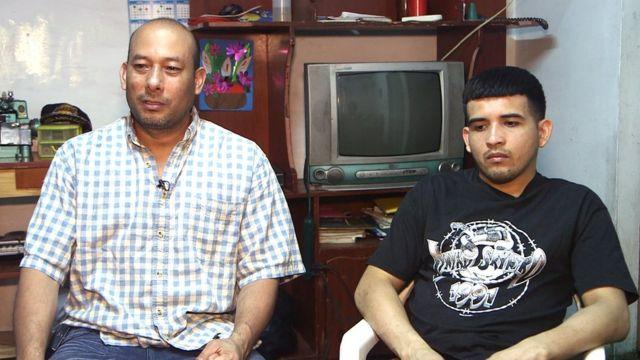 Miguel Ángel Cañizales (izquierda) y José Luis Canales.