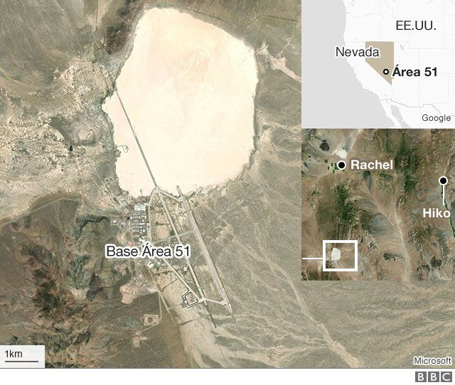 Área 51: qué es el misterioso lugar que inspira teorías de la conspiración  (y por qué algunos creen que alberga extraterrestres) - BBC News Mundo