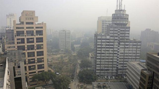 प्रदूषित दिल्ली