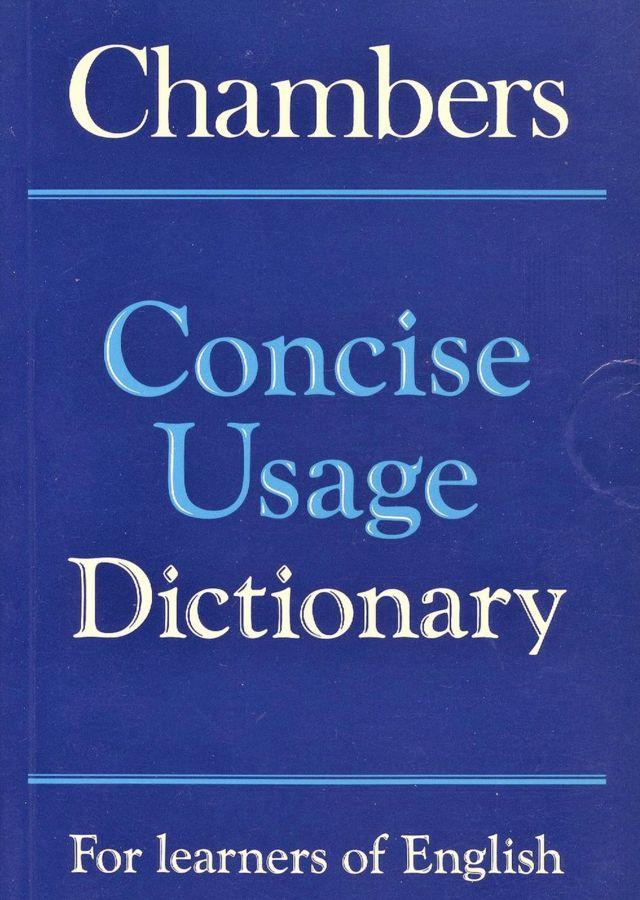 تصویر روی جلد «لغتنامۀ مختصر کاربردی انگلیسی چمبرز» در ۶۳۲ صفحه شامل بیش از ۲۴۰۰۰ کلمه و عبارت و مثال کاربردی آنها