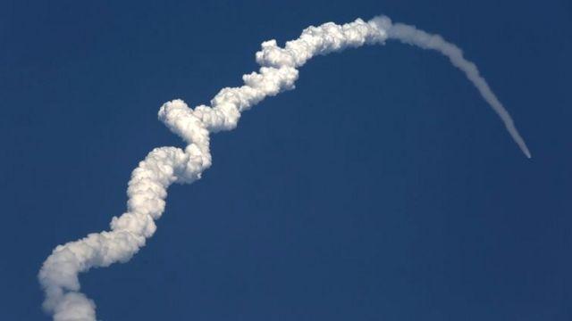 जीसैट-6ए का लॉन्च