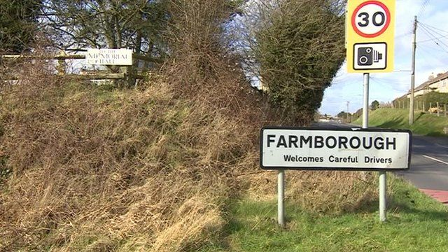 Farmborough, a small village between Bath and Bristol