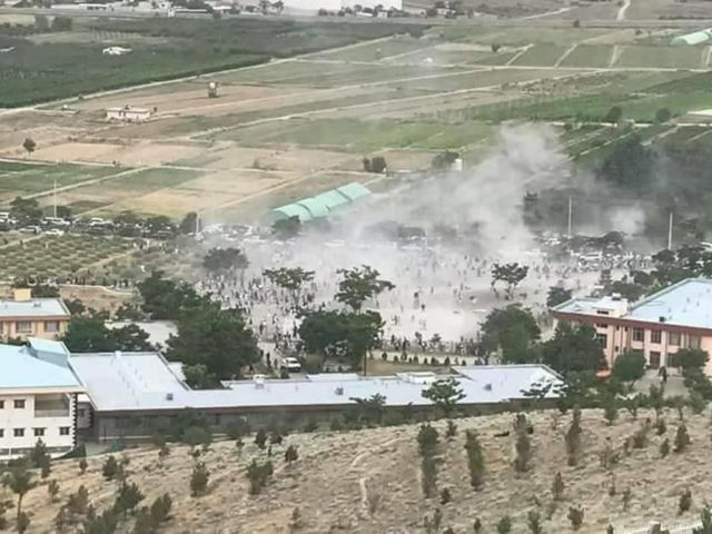 محل انفجار