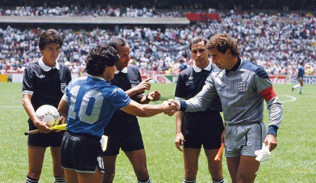 Bennaceur El Arbitro Que No Le Pito A Maradona La Mano De Dios Me Hubiera Gustado Que Inglaterra Empatara Para Seguir Disfrutando Del Partido Bbc News Mundo