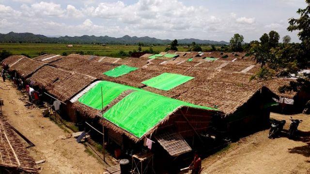တိမ်ညိုစခန်းဟာ မြောက်ဦးမြို့နယ်အတွင်းမှာ အကြီးဆုံးစခန်းတစ်ခု