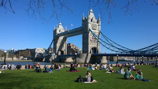 Picnic en Tower Bridge