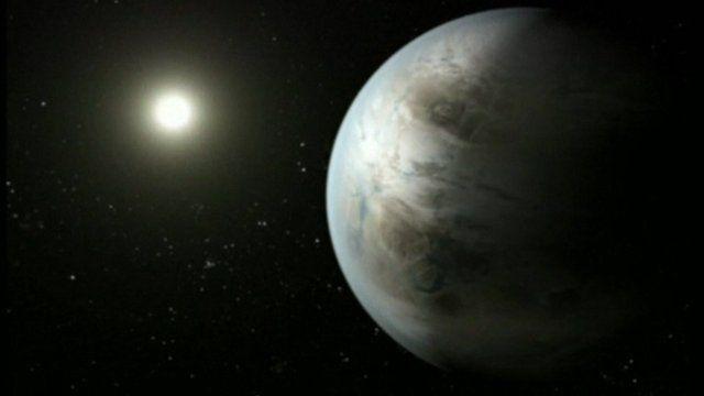 Artist impression of Kepler-452b
