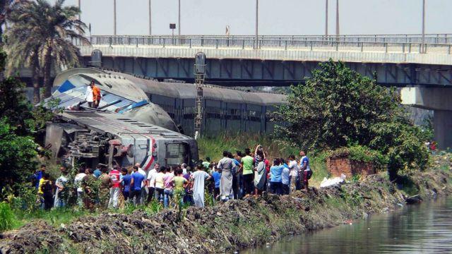 Крушение поезда под Каиром