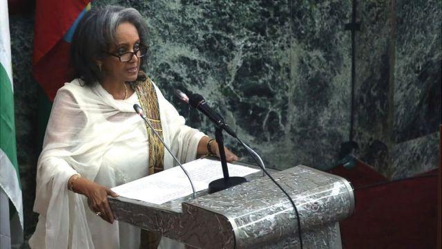 Sahle-Work Zewde, Perezida wa Ethiopia