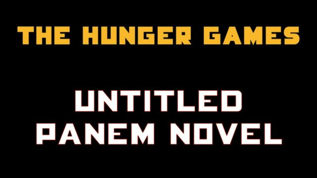 Hunger Games: Suzanne Collins prequel novel set for 2020