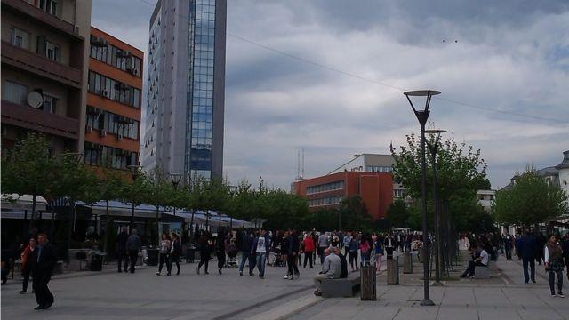 Glavna ulica u Prištini