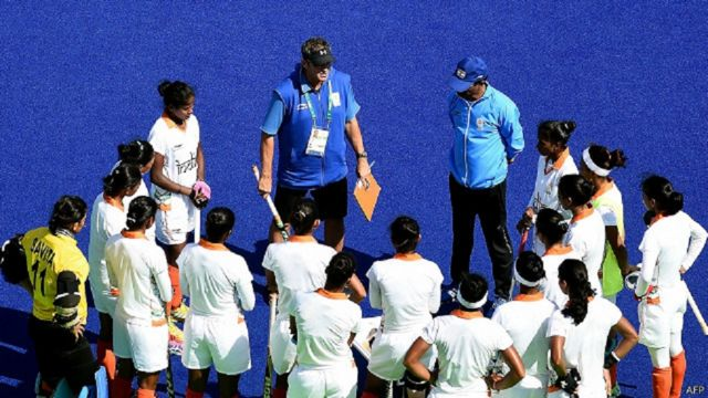 रियो ओलंपिक में भाग लेने वाली भारतीय महिला हॉकी टीम
