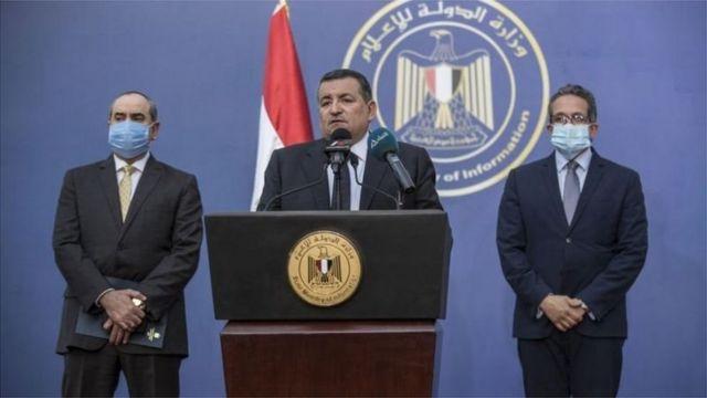 أسامة هيكل وزير الدولة لشؤون الإعلام في مصر