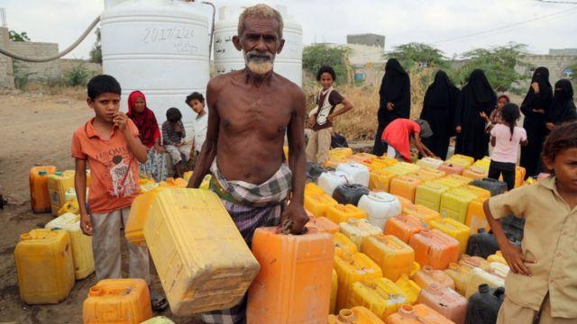 Yemen'de suya erişim kısıtlı