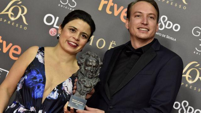 Gabriela Rodríguez y Nicolás Celi