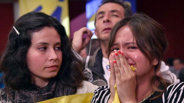 """Partidários do """"sim"""" lamentam resultado"""