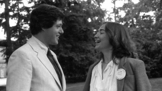 हिलेरी और बिल क्लिंटन