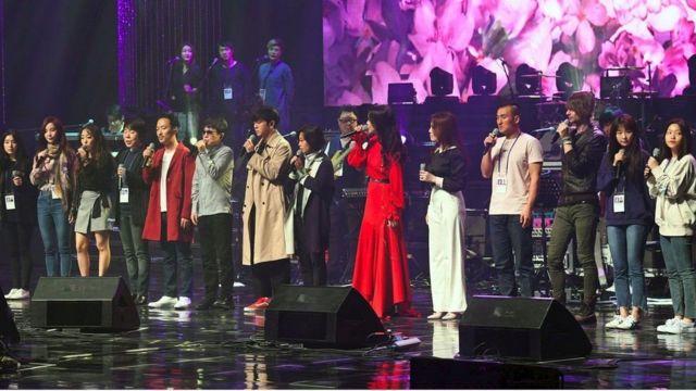 दक्षिण कोरियाली कलाकारहरू