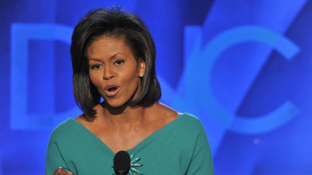 Michelle Obama, en agosto de 2008