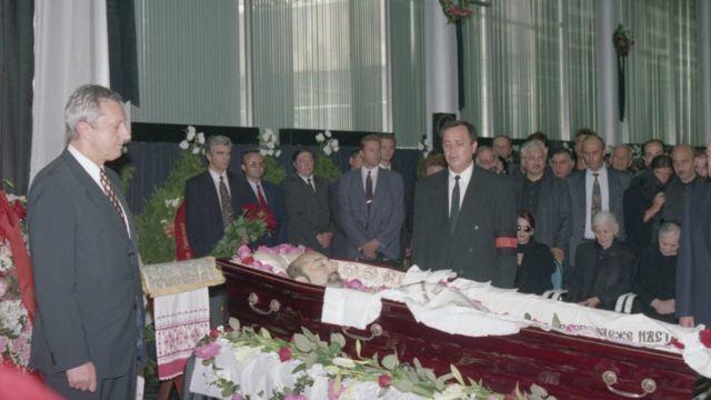 Похороны Ивана Кивелиди в Москве