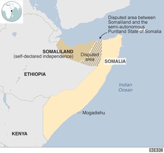Ethiopia apologises for map that erases Somalia - BBC News
