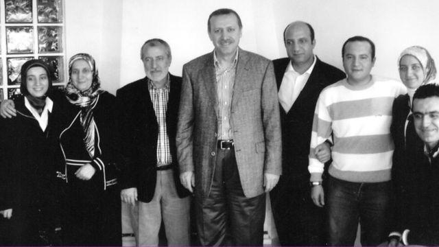 Erdoğan, Mücahit ve İhsan Arslan