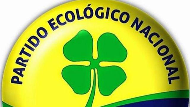 Logo do PEN, um trevo de quatro folhas