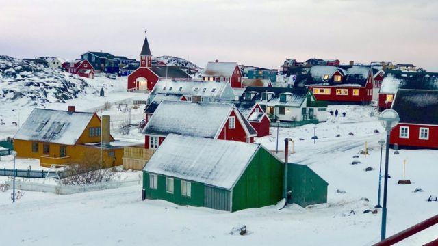 Nuuk, capital da Groelândia