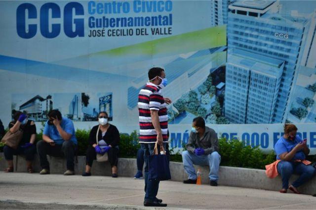 Centro de triaje en Tegucigalpa