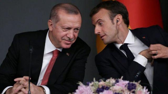 Xiriirka Erdogan iyo Macron ayaa sanadkii alsoo dhaafay gaaray heer aad u xun