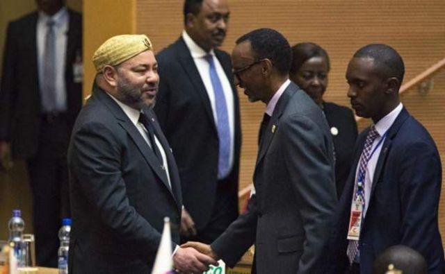 Le roi du Maroc Mohamed VI s'est réjoui mardi de la réintégration du Maroc au sein de l'Union africaine.